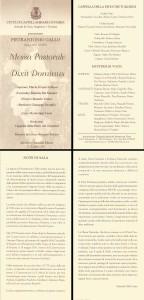 03 - P.A.GALLO - DIXIT 22.12.2003 Prima esecuzione moderna Messa Pastorale copia